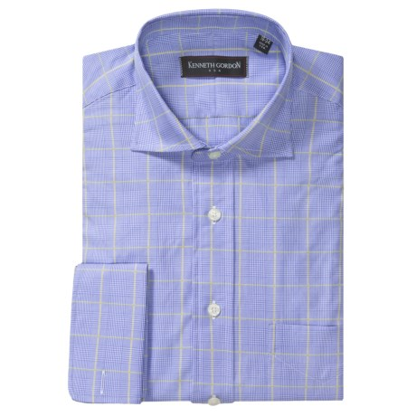 Kenneth Gordon 2-Ply Twill Dress Shirt - French Cuff, Long Sleeve (For Men)