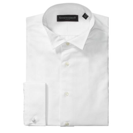 Kenneth Gordon Formal Bib-Front Dress Shirt - French Cuff, Long Sleeve (For Men)