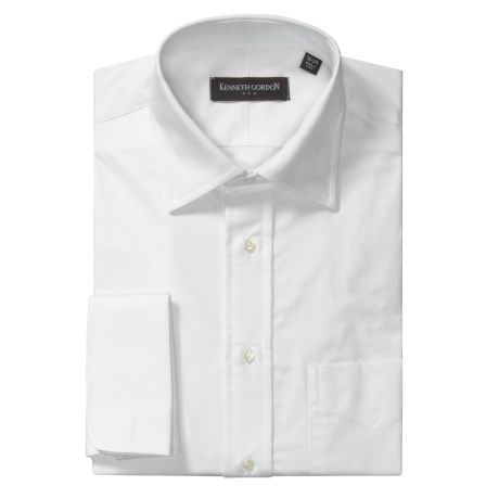 Kenneth Gordon Twill Dress Shirt - French Cuff, Long Sleeve (For Men)
