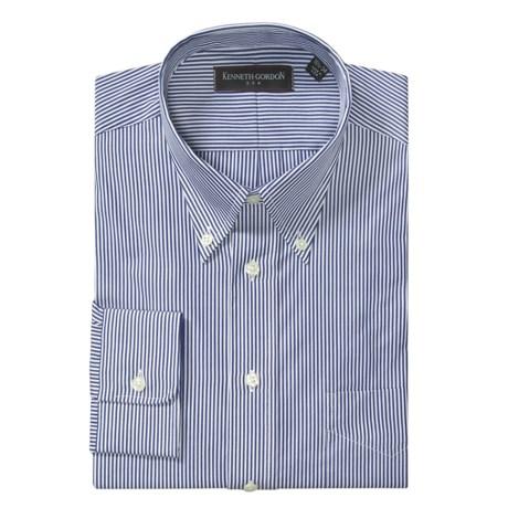 Kenneth Gordon Bengal Stripe Dress Shirt - Long Sleeve (For Men)