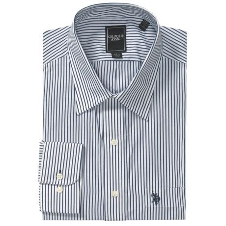 U.S. Polo Assn. Stripe Dress Shirt - Point Collar, Long Sleeve (For Men)