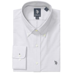 U.S. Polo Assn. Solid Oxford Dress Shirt - Long Sleeve (For Men)