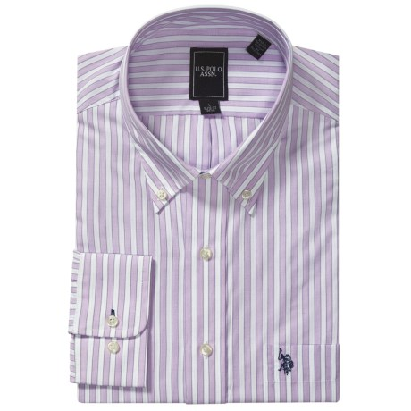 U.S. Polo Assn. Striped Dress Shirt - Long Sleeve (For Men)