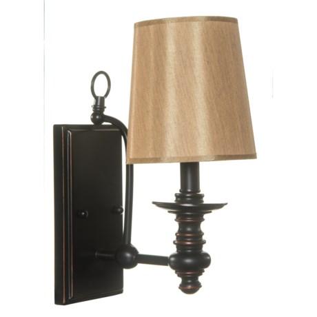 "BelAir Lighting Henderson Round Shade Vanity Light - 5.75"""