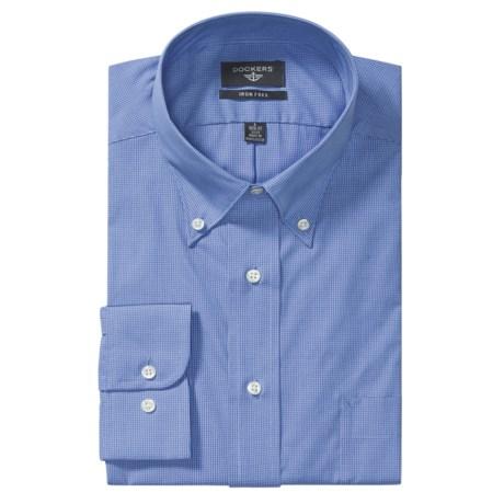 Dockers Mini Check Graduate Shirt - Classic Fit, Long Sleeve (For Men)