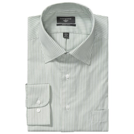 Dockers Iron-Free Smith Stripe Shirt - Classic Fit, Long Sleeve (For Men)