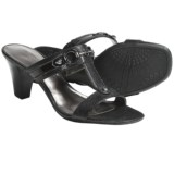 AK Anne Klein Harlen T-Strap Sandals (For Women)