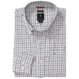 Victorinox Swiss Army Windowpane Plaid Shirt - Long Sleeve (For Men)