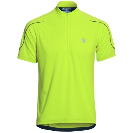 Canari Sportech Cruiser Jersey - Zip Neck, Short Sleeve (For Men)