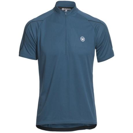 Canari Sportech Trail Jersey - Zip Neck, Short Sleeve (For Men)