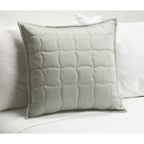 Barbara Barry Quiet Curve Toss Pillow - 18x18""