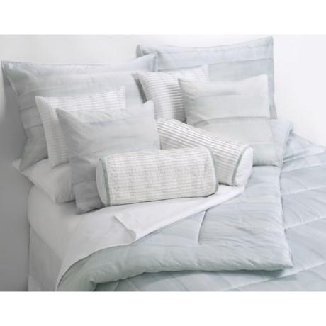 """Barbara Barry Dream Watertint Boudoir Toss Down Pillow - 12x16"""""""