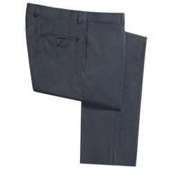 Riviera Harper Narrow Beaded Stripe Dress Pants - Flat Front (For Men)