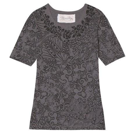 Aventura Clothing Kali Burnout T-Shirt - Short Sleeve (For Women)