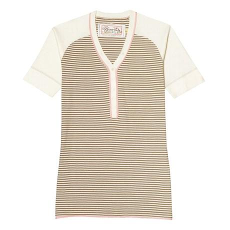 Aventura Clothing Dylan Henley Shirt - Organic Cotton, Short Sleeve (For Women)