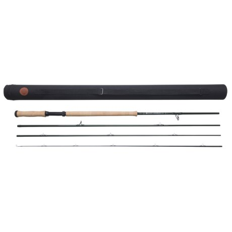 Hardy Uniqua Double Hand Fly Fishing Rod - 4-Piece, 15' 10wt