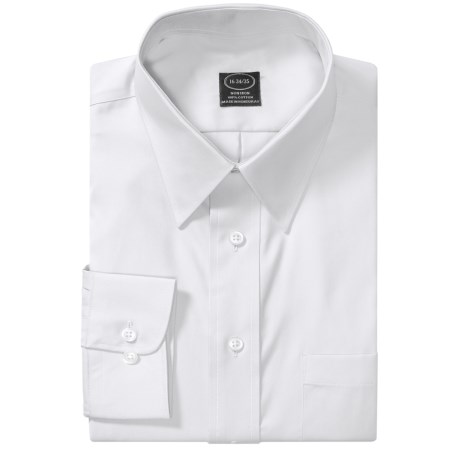 Point Collar Dress Shirt - Long Sleeve (For Men)