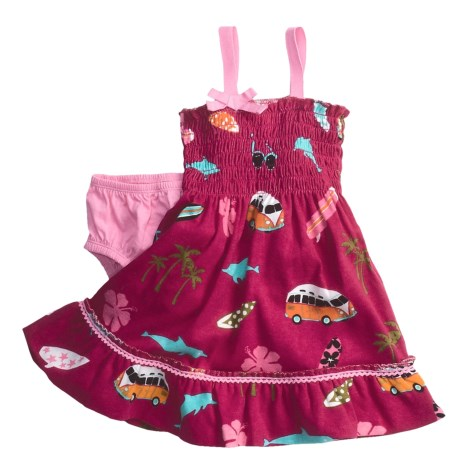 Hatley Summer Smocked Dress - Sleeveless (For Infant Girls)