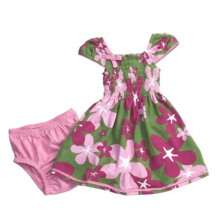 Hatley Smocked Dress - Cotton Jersey, Short Sleeve (For Infant Girls)