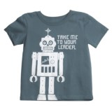 Hatley Cotton Graphic T-Shirt - Short Sleeve (For Boys)