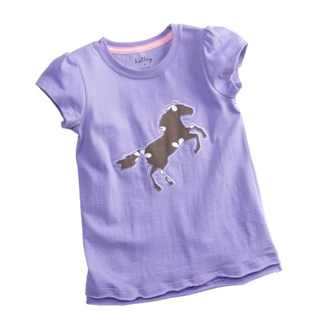Hatley Cotton Graphic T-Shirt - Short Sleeve (For Little Girls)