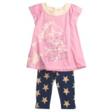 Hatley T-Shirt and Leggings Set - 2-Piece (For Little Girls)