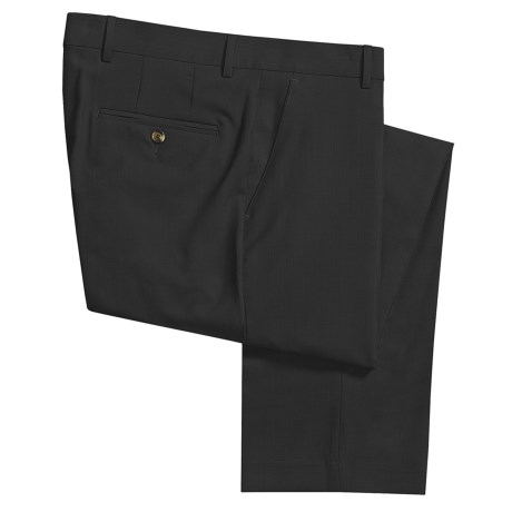 Barry Bricken Wool Cord Weave Dress Pants - Flat Front (For Men)