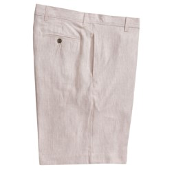 Charleston Khakis by Berle Striped Shorts - Linen (For Men)