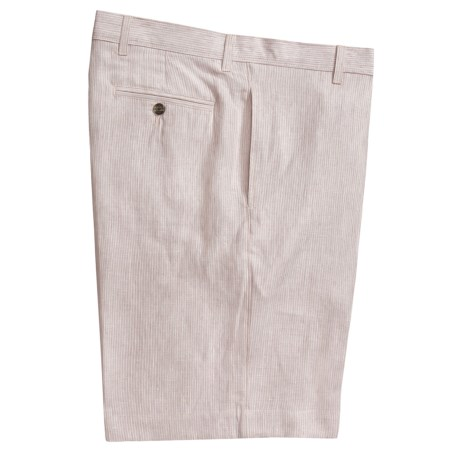 Berle Charleston Khakis by  Striped Shorts - Linen (For Men)