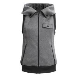Burton Starr Fleece Vest - Hooded (For Women)