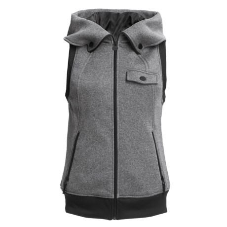 Burton Starr Fleece Vest - Hooded (For Women)