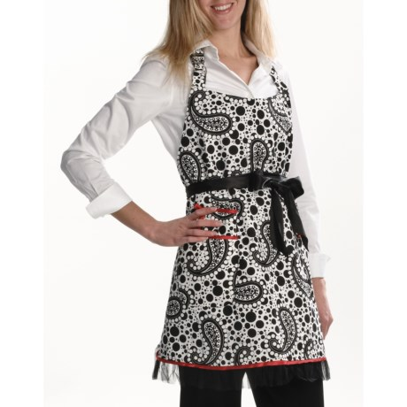 Valcooks ! Designer Hostess Apron and Potholder Set