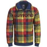 Burton Bonded Hooded Sweatshirt - Full Zip (For Men)