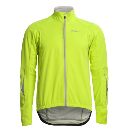 Craft Sportswear High-Performance Stretch Cycling Jacket - Soft Shell (For Men)