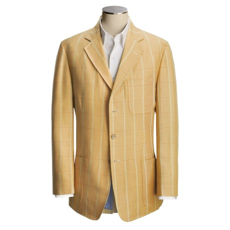 Bills Khakis Linen-Cotton Sport Coat (For Men)