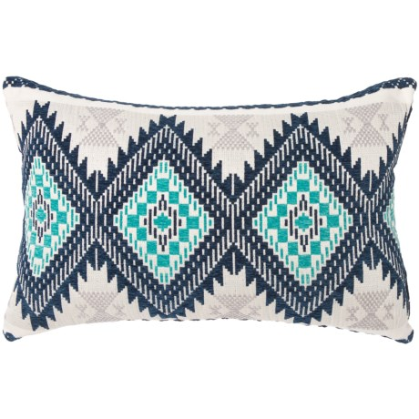 Spencer Embroidered Southwest Throw Pillow - 15x24""