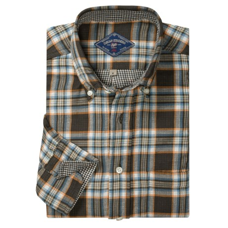 Bills Khakis Two-Faced Plaid Sport Shirt - Button-Down Collar, Long Sleeve (For Men)