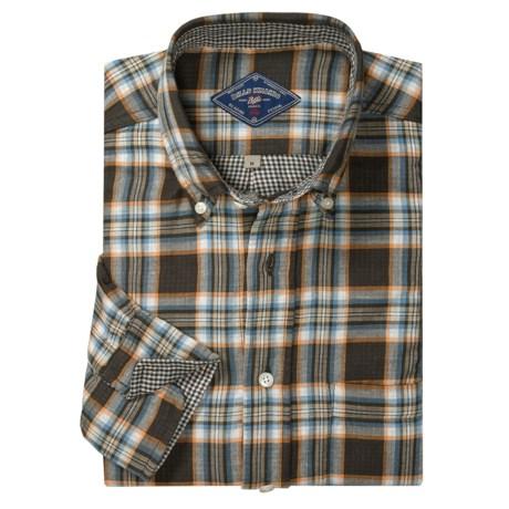 Bills Khakis Two-Faced Plaid Sport Shirt - Button-Down Collar, Long Sleeve (For Men)