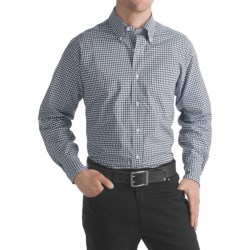 Bills Khakis Gingham Broadcloth Shirt - Long Sleeve (For Men)