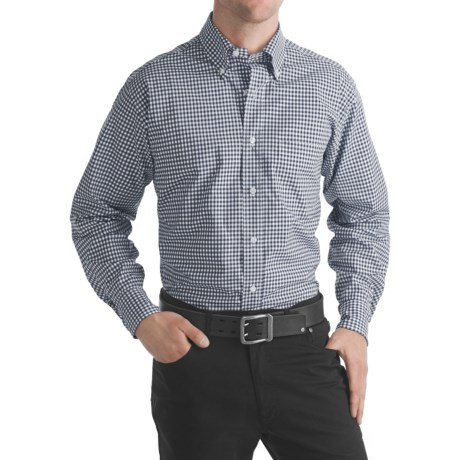 Bills Khakis Gingham Broadcloth Shirt - Long Sleeve (For Men)
