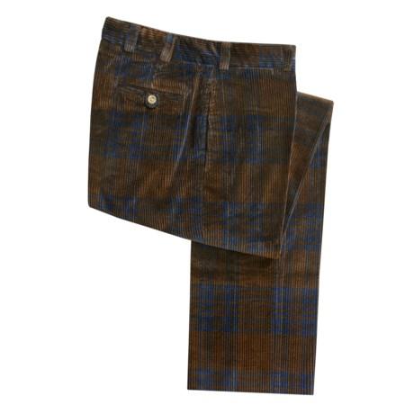 Bills Khakis M2 Alternative Corduroy Pants - Flat Front (For Men)