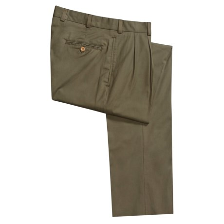 Bills Khakis M2P Cotton Gabardine Pants - Pleated (For Men)