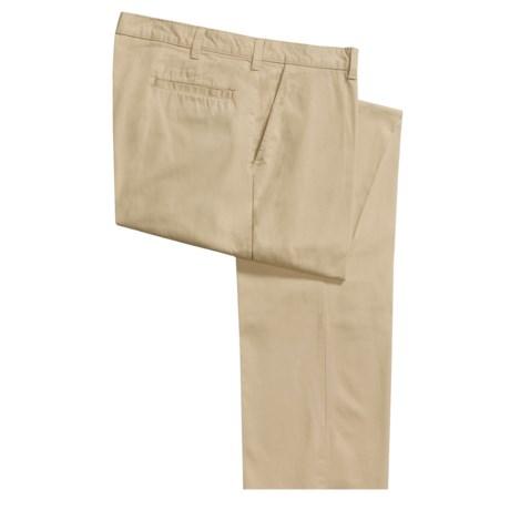 Bills Khakis Parker Island Twill Pants - Flat Front (For Men)
