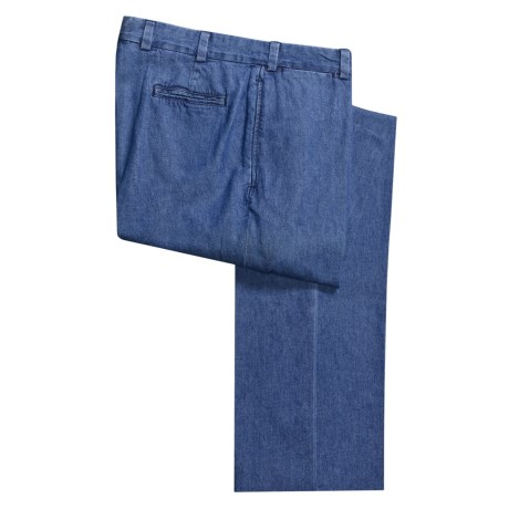 Bills Khakis M2 Denim Pants - Flat Front (For Men)
