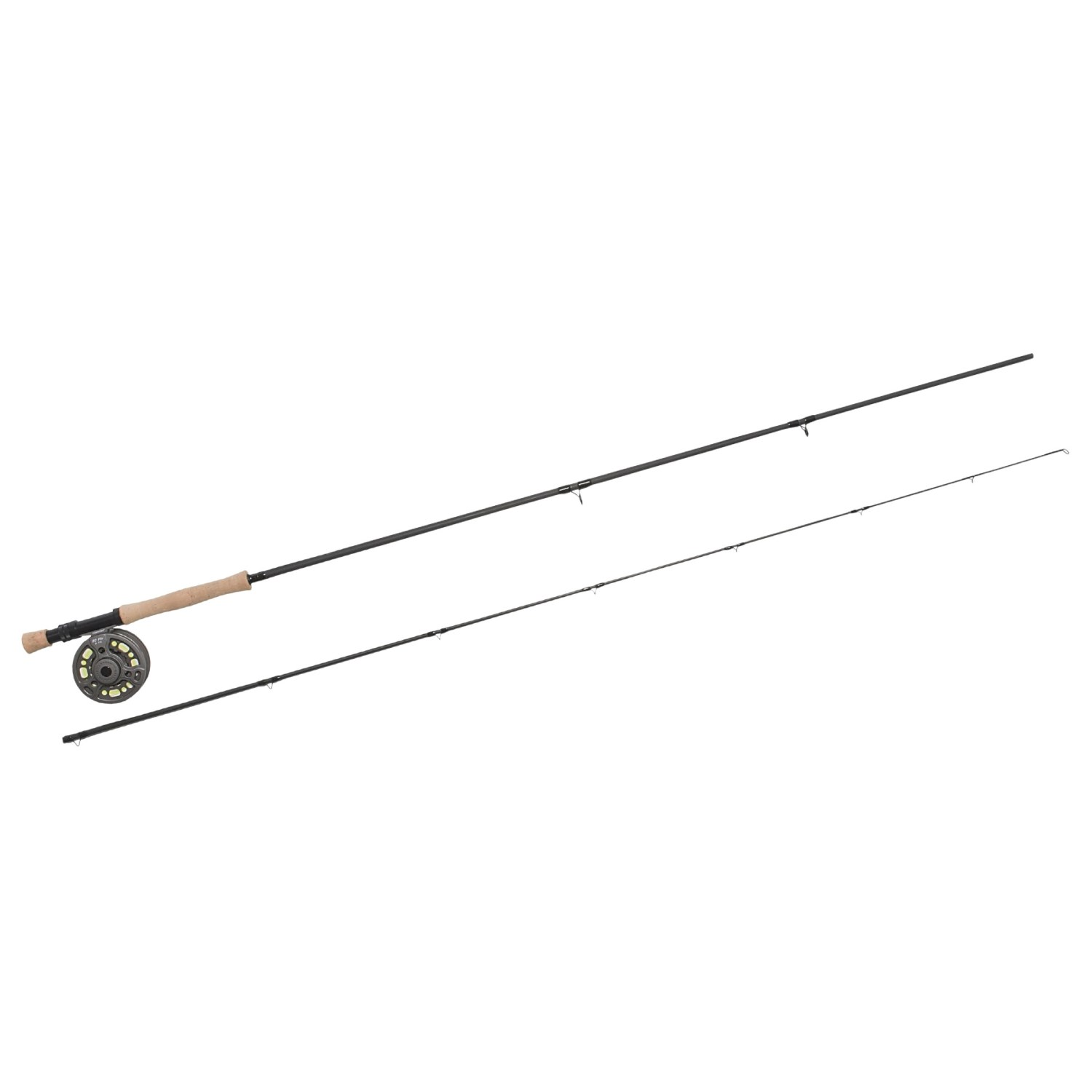 Cortland Fly Fishing Combo 2 Piece Rod With Pro Cast