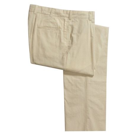 Bills Khakis M2 Pinpoint Seersucker Pants - Flat Front (For Men)