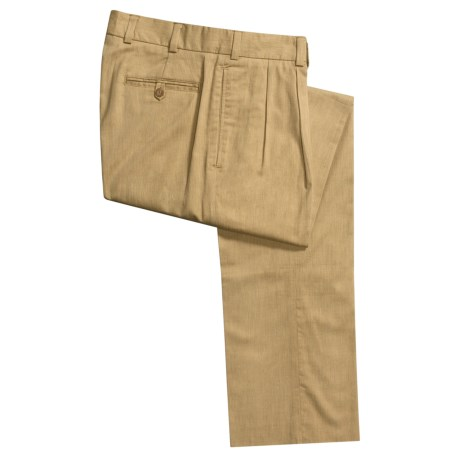 Bills Khakis M2P Hampton Twill Pants - Pleated (For Men)