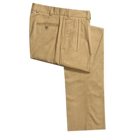 Bills Khakis M2P Hampton Twill Pants - Pleated (For Men)