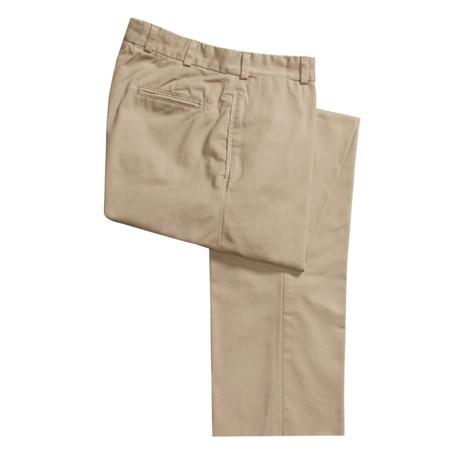 Bills Khakis M1 Original Twill Pants - Button Fly, Flat Front (For Men)
