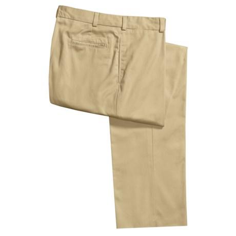 Bills Khakis M2 Cotton Twill Pants - Flat Front (For Men)